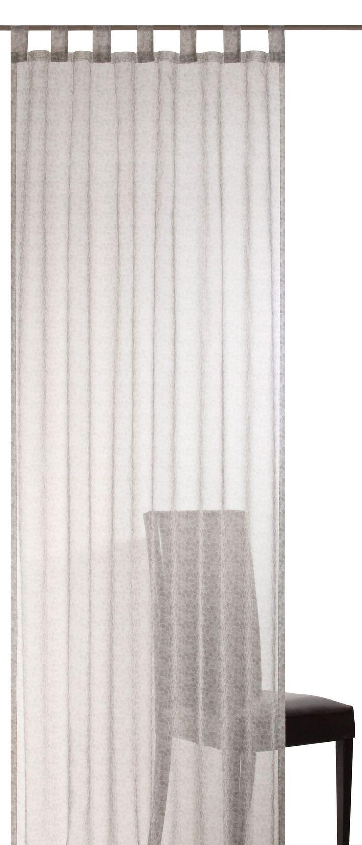 Vorhang, Elbersdrucke, »Lovely Allover«, mit Schlaufen (2 Stück) online kaufen   OTTO