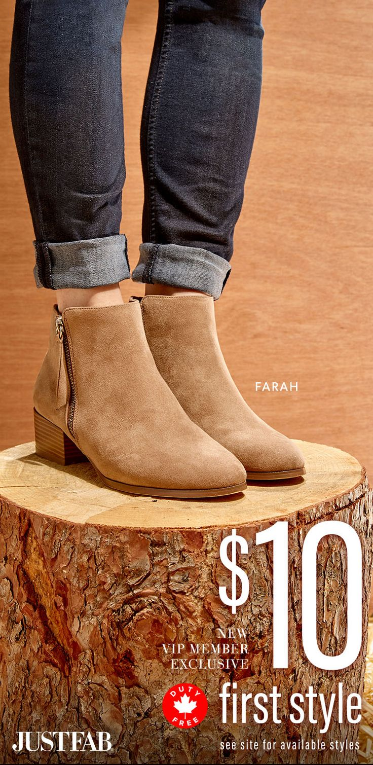 December Styles are Here! - Get Your First Pair of Booties for Only $10! Take the 60 Second Style Quiz to get this exclusive offer!