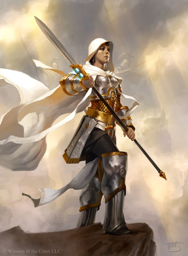 Elspeth, Sun's Champion || Tyler Jacobson || Dual Decks: Elspeth v. Kiora || Magic: the Gathering