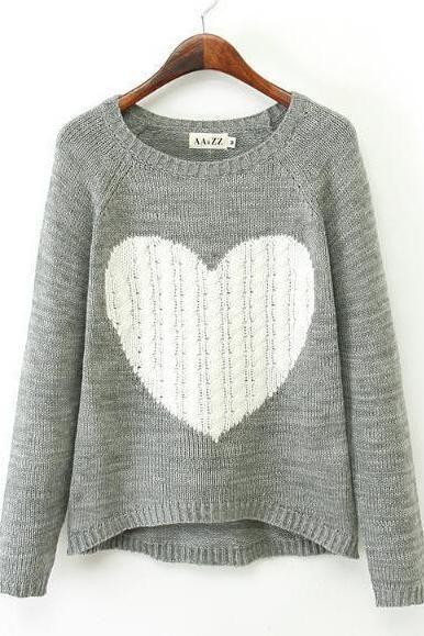 Best 25  Heart sweater ideas on Pinterest | Sweaters, Pastel ...