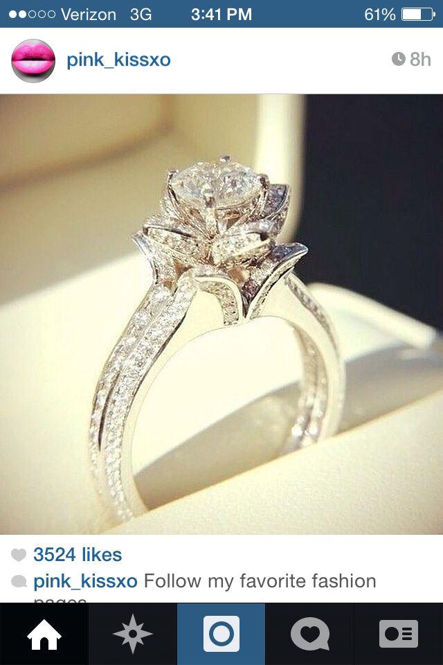 Wedding Gift For Elder Brother : Rose wedding ring Jewelry Pinterest Wedding, Wedding ring and ...