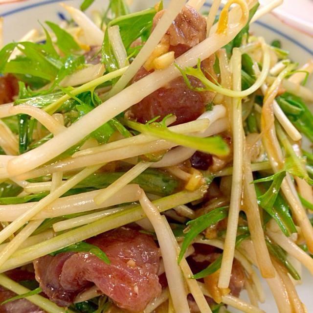今週の家庭料理、中華メニューです。 - 12件のもぐもぐ - 初鰹の黒酢中華サラダ by chiharuaprile
