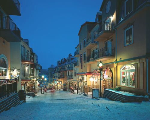 Mont Tremblant Ski Resort in Canada...INCREDIBLE and ENCHANTING
