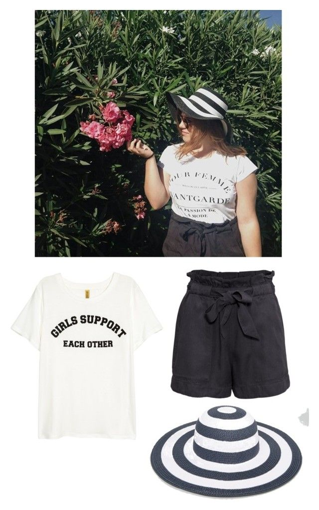 """Vacation Outfits #2"" by theeuropeancloset on Polyvore featuring H&M and French Connection"