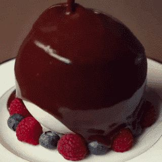 For those times? There's this chocolate ball sundae that is straight-up MAGICAL. | This Chocolate Dessert Is Completely Mesmerizing