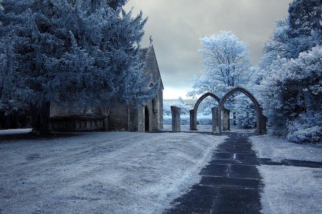 Holyrood Church, and Lawn Woods, Swindon.