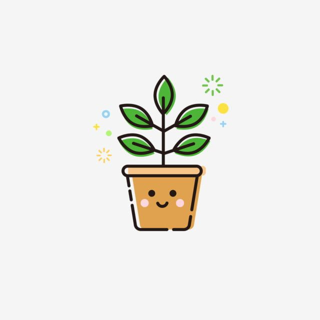 Mbe Icon Plant Cute Potted Leaves Mbe Plant Icon Png And Vector With Transparent Background For Free Download Plant Icon Plant Cartoon Cartoon Clip Art