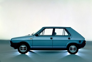 The Fiat Strada developed a rust problem that Fiat to leave the US market