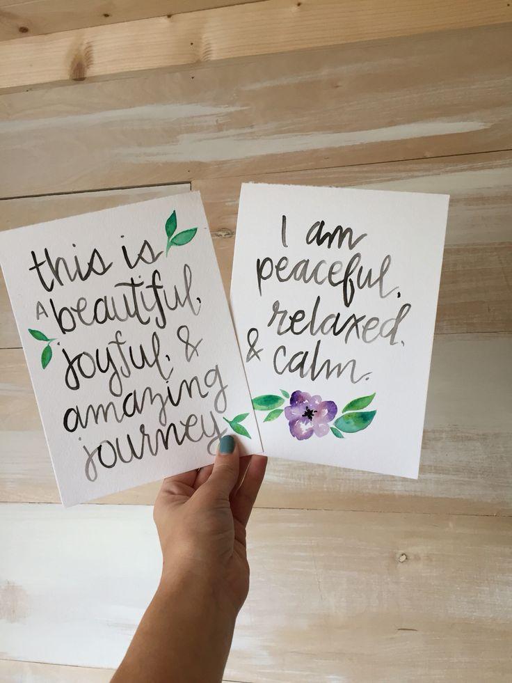 Birth affirmations by McMandyMom on Instagram // #homebirth #birthwithoutfear #peacefulbirth