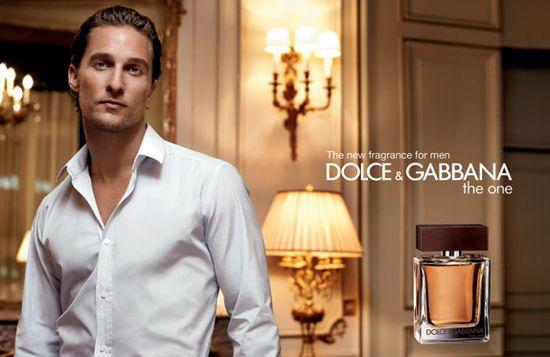 Dolce & Gabbana The One e Matthew McConaughey