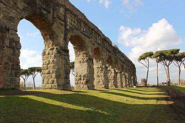 rehearsal rooms between appia antica and acquedotto appio claudio in rome