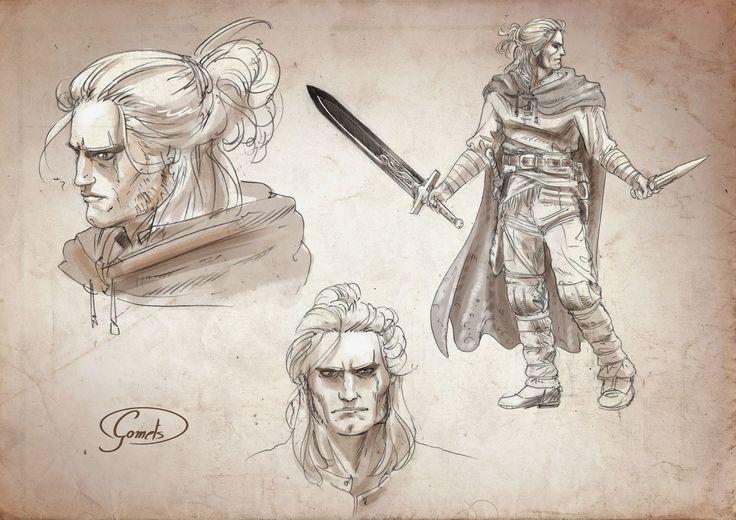 Sketch omaggio a Dragonero