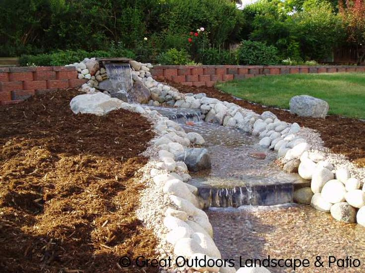 Easy backyard water features landscaping water features Backyard water features