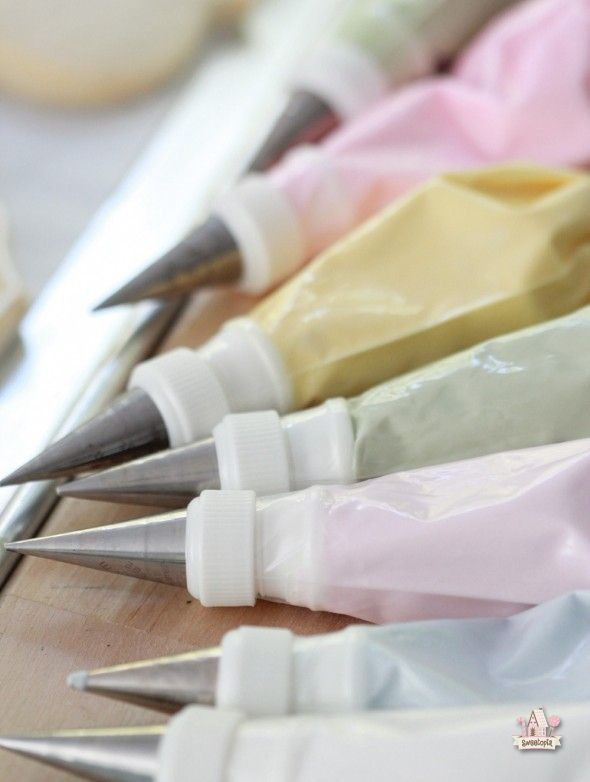 pastel royal icing  sweetopia