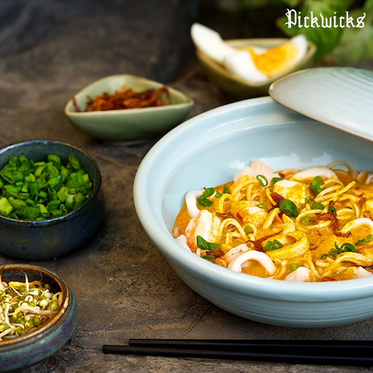 The spicy broth of Laksa will leave you craving for more each time!