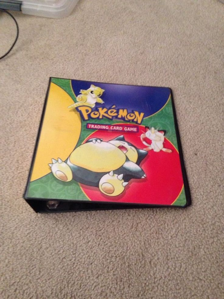 Pokemon Card Binder 1st Generation For My Grands Pinterest Pok 233 Mon Collectible Cards