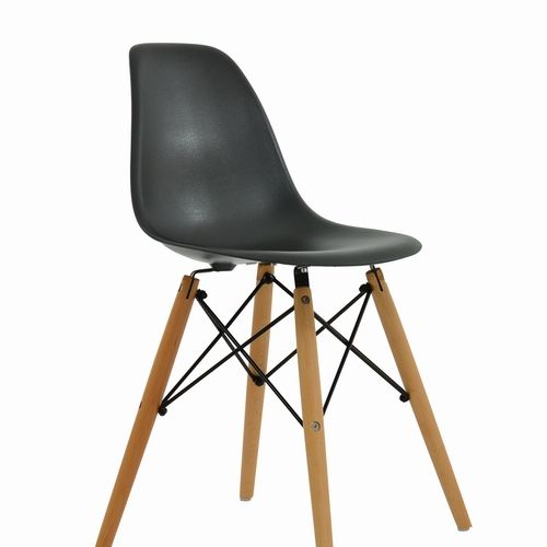Dsw Dining Chair Black In 2019 Monochrome Black Dining Chairs