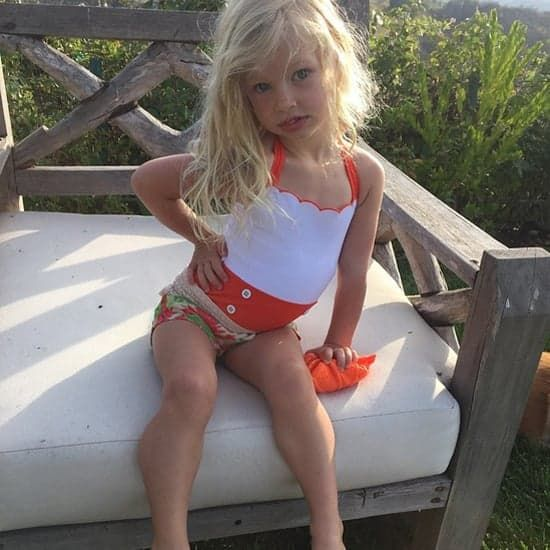 Pin for Later: Jessica Simpson's Adorable Daughter Definitely Inherited Her Posing Skills