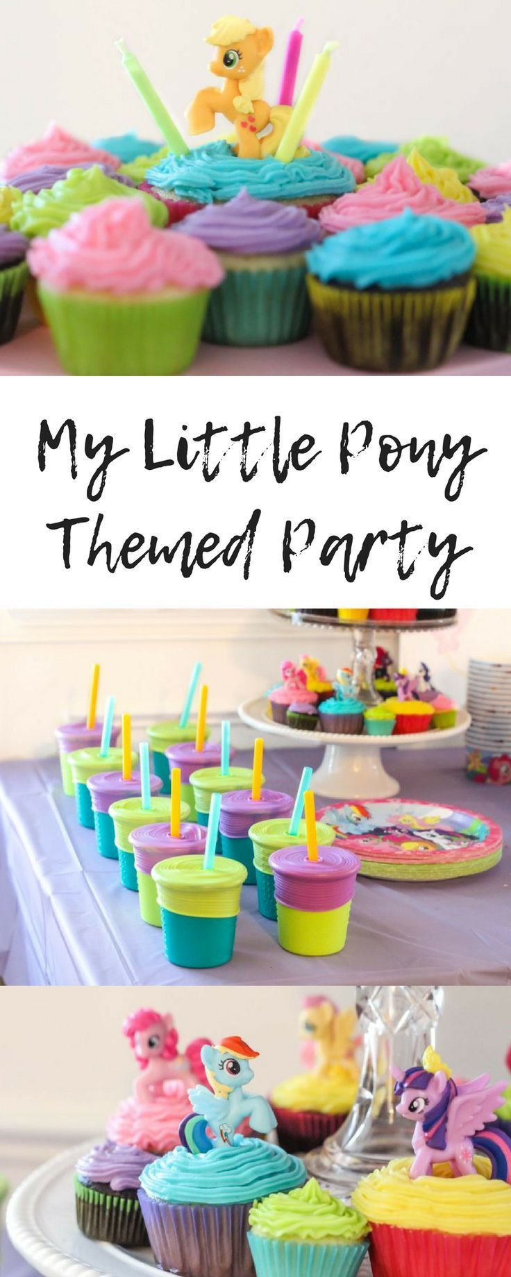 Little Kid Birthday Party My Little Pony Party Motherhood My Little Pony Party Little