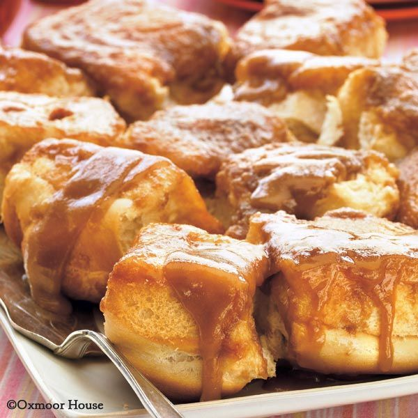 Gooseberry Patch Recipes: Gooey Caramel Rolls from Best-Loved Baking Recipes. 3 ingredients are all it takes to make up these yummy, gooey breakfast rolls!