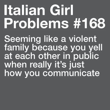 Italian Girl Problems — More problems here