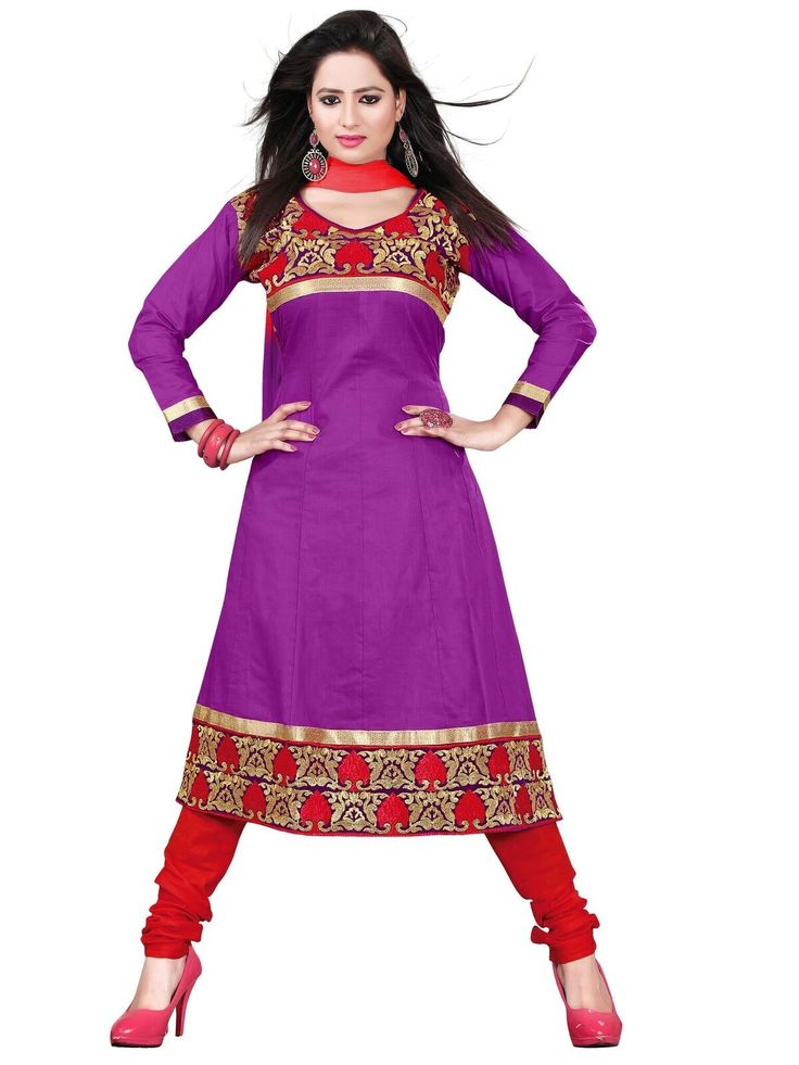 buy saree online Magenta Colour Cotton Designer Party Wear Dress Material Buy Saree online - Buy Sarees online