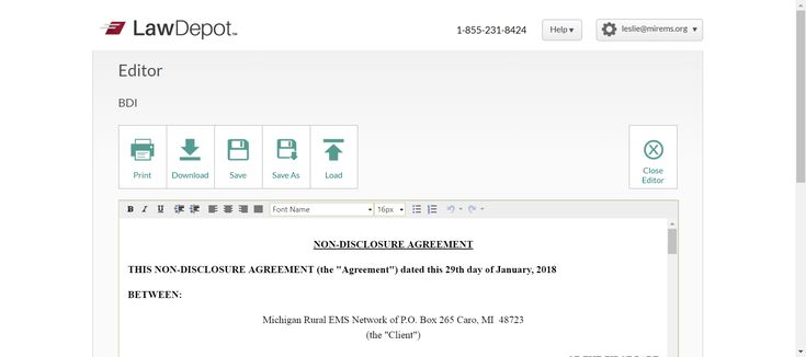 Confidentiality AgreementNon Disclosure Agreement Sample  Non