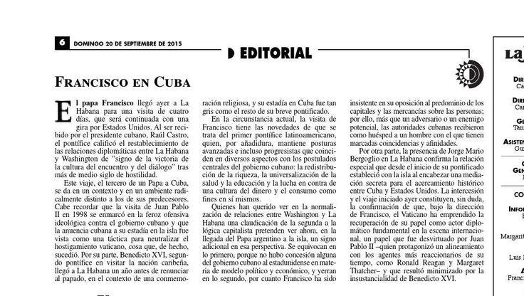 #ClippedOnIssuu from La Jornada, 09/20/2015