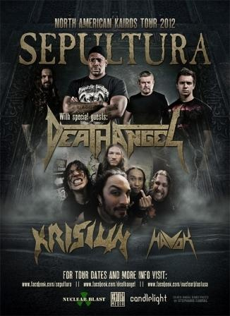 KRISIUN to kick-off tour with SEPULTURA, DEATH ANGEL, HAVOK next week