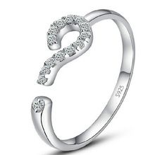 korean 925 sterling zilveren sieraden ringen voor vrouwen groothandel trouwringen opening fijne sieraden bijoux vrouwen verstelbare 076(China (Mainland))