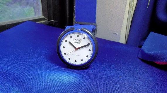pop swatch watch | 1987 Vintage Pop-Swatch