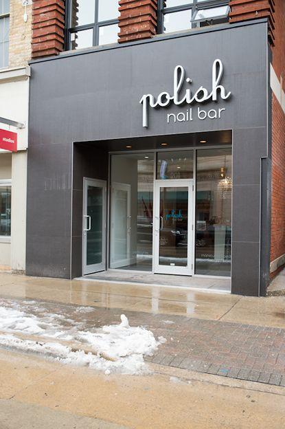modern nail bar storefront and interior design 02