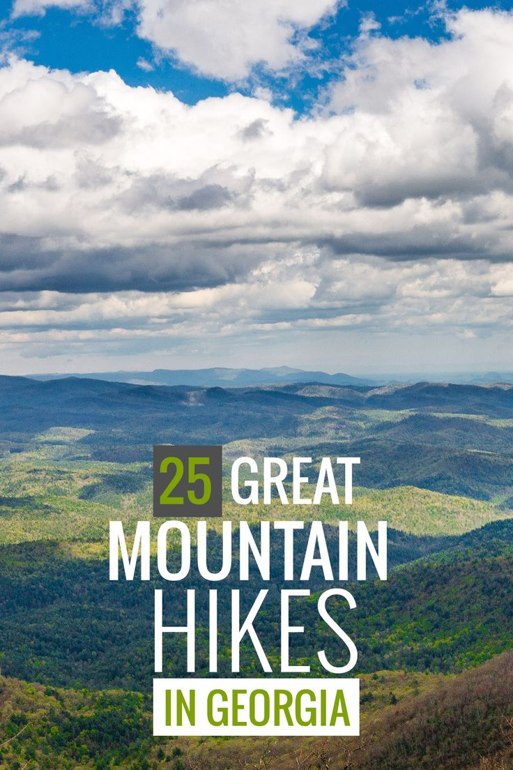 Georgia mountains: our favorite hikes to summits & sublime views.  Hike to exceptional summit views on these trails to some of the tallest mountains in Georgia. Our top 25 Georgia mountain trails scale lofty peaks and summits to catch some of the Peach State's best views.