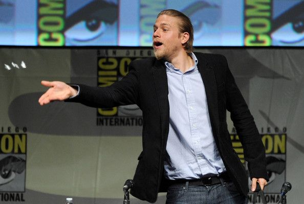 "Charlie Hunnam Photo - Warner Bros. Pictures And Legendary Pictures Preview - ""Pacific Rim"" - Comic-Con International 2012"