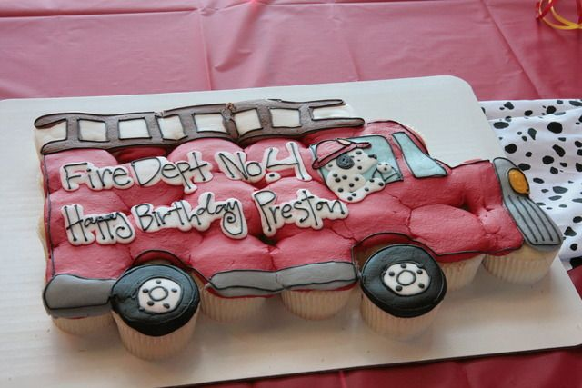 "Photo 1 of 11: Fireman / Birthday ""Preston's Smokin' Birthday"""