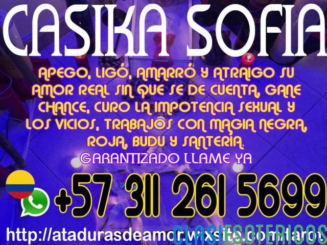 AMARRES DE AMOR EN SANTIAGO DE LA CASIKA SOFIA LLAMAME 3112615699 - Clasiesotericos Chile