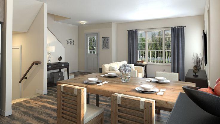 Bright spacious living areas