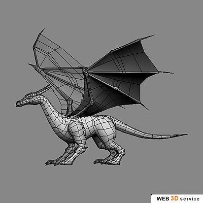 web 3D service - 3D portfolio - real time low polygonal 3D models