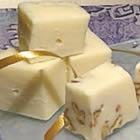 White Fudge~easy, white chocolate, EAGLE BRAND, vanilla, nuts