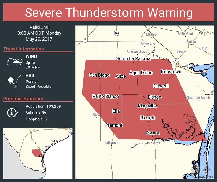 NWSSevereTstorm: Severe Thunderstorm Warning including Kingsville TX, Alice TX, Robstown TX until 3:00 AM CDT pic.twitter.com/BkULUJ4Y1J - https://blog.clairepeetz.com/nwsseveretstorm-severe-thunderstorm-warning-including-kingsville-tx-alice-tx-robstown-tx-until-300-am-cdt-pic-twitter-combkuluj4y1j/