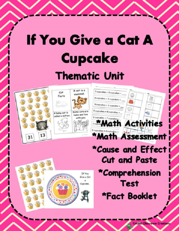 79 Best If You Give A Cat A Cupcake By Laura Numeroff