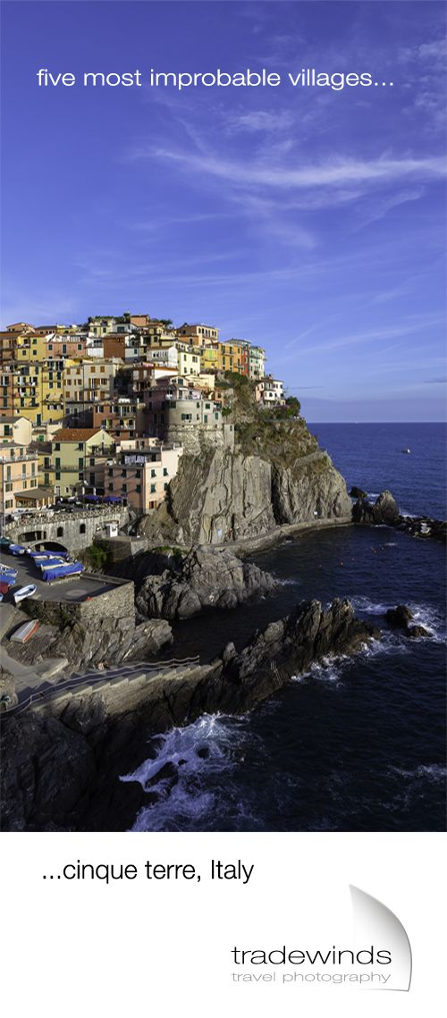 A visit to Cinque Terre national park in Italy