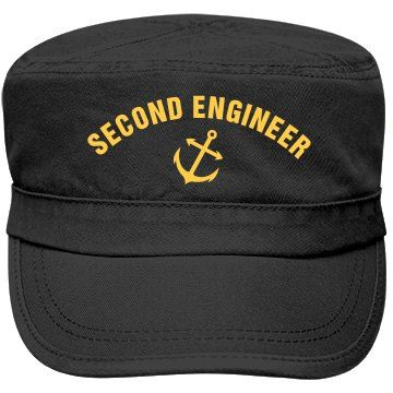 Second Engineer cap