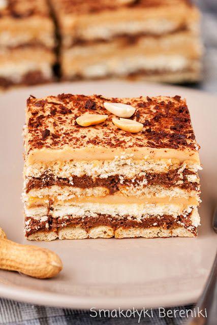 Ciasto czekoladowo-orzechowe na zimno
