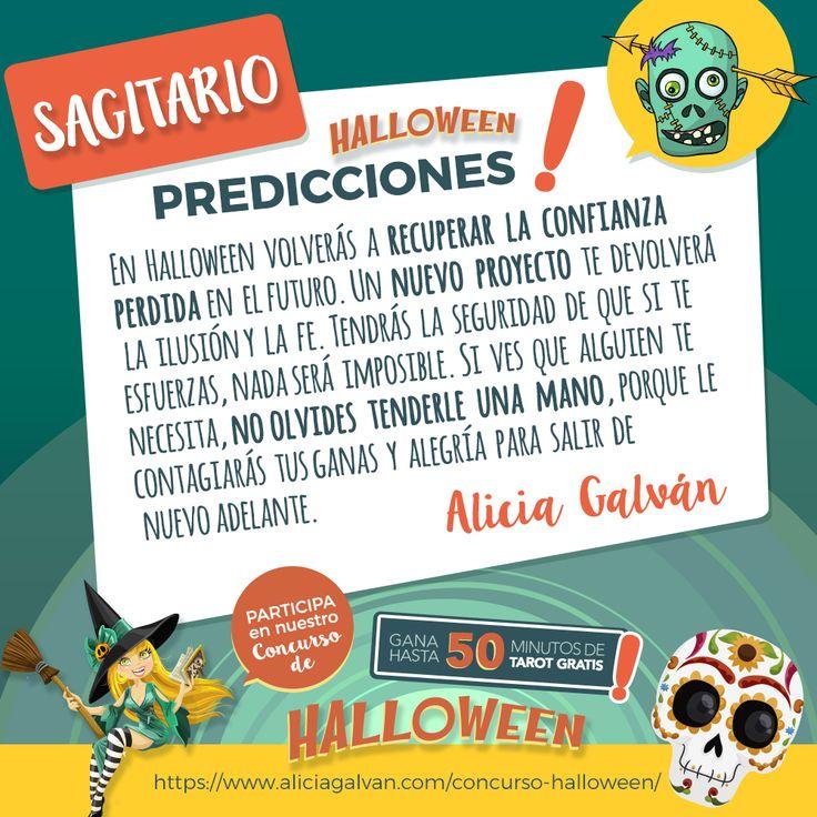 #Sagitario ¿quieres una consulta gratis de Tarot? Participa en nuestro concurso #Halloween 🎃 y consigue una de las 6 que sorteamos. Infórmate aquí.