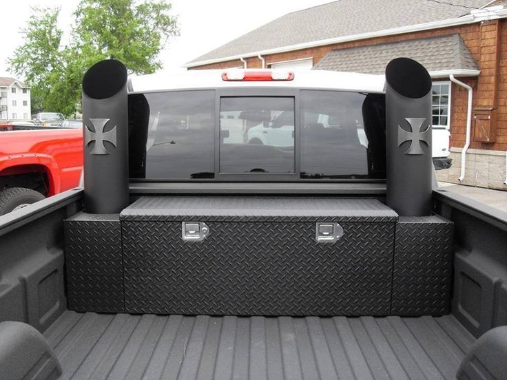Tricked Out Box Amp Exhaust Trucks Amp Stuff Diesel
