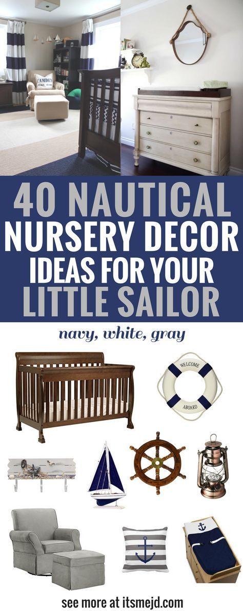 40 Nautical Nursery Decor Ideas for Your Little Sailor ...