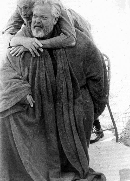 John Huston & Orson Welles
