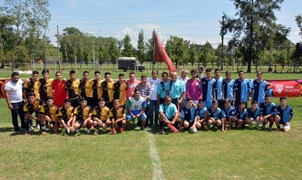 Tigre fue sede de un nuevo encuentro de fútbol con instituciones de Zona Norte