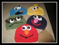 sesame street crochet hat patterns  @Audra O'Connell thought of you.